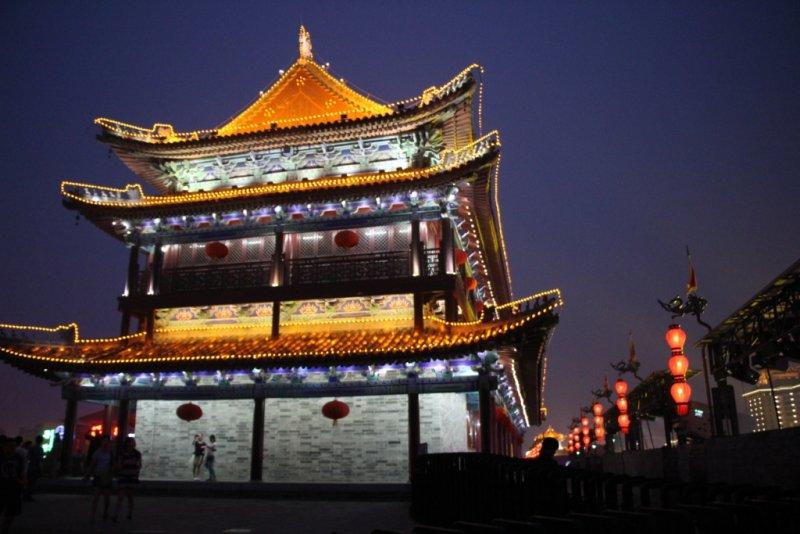 西安-城墙塔楼