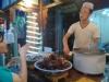 西安-回民巷-小吃-肉夹馍